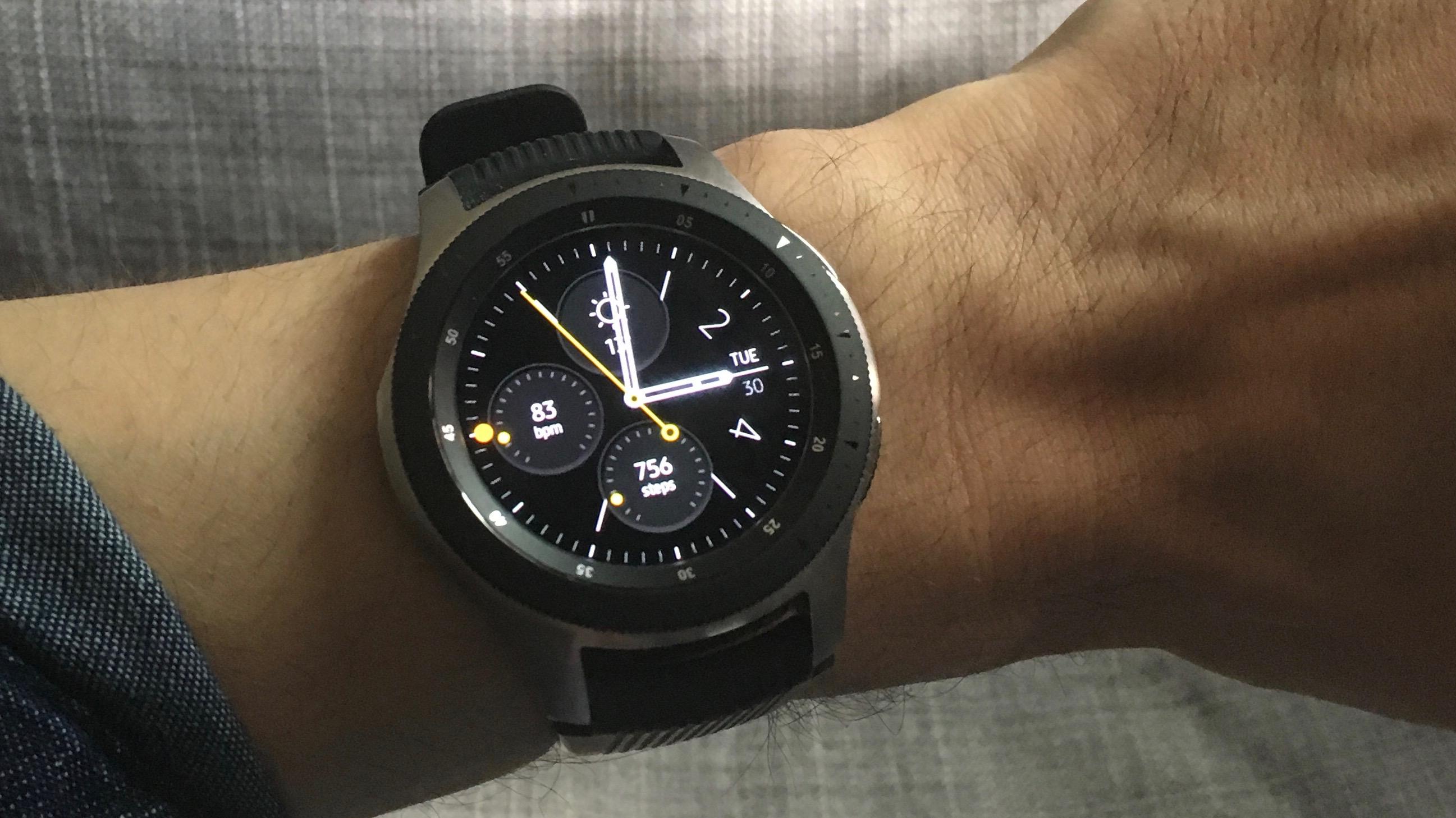 Samsung Gear S3/Galaxy Watch + iPhone 5S